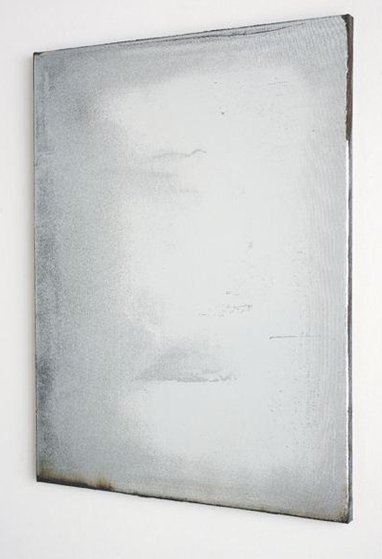 Obra de Jacob Kassay que se vendió por $86,500 en la subasta de Phillips del año 2010