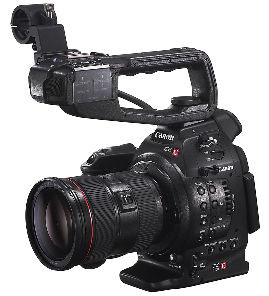 The Canon C100 -- a great camera, yes. Overpriced? Double yes.