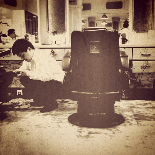 The barber's #urban #nostalgia #history