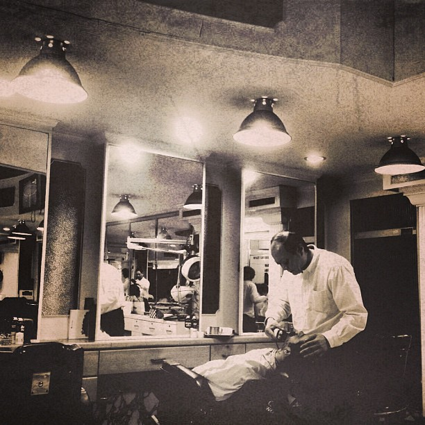 The barber's #urban #culture #nostalgia #
