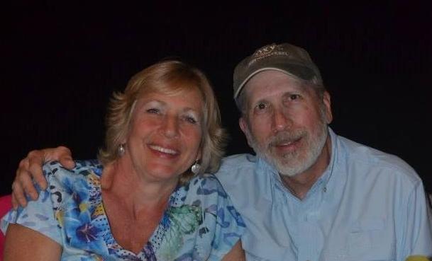 Felicia and her husband, Jeff