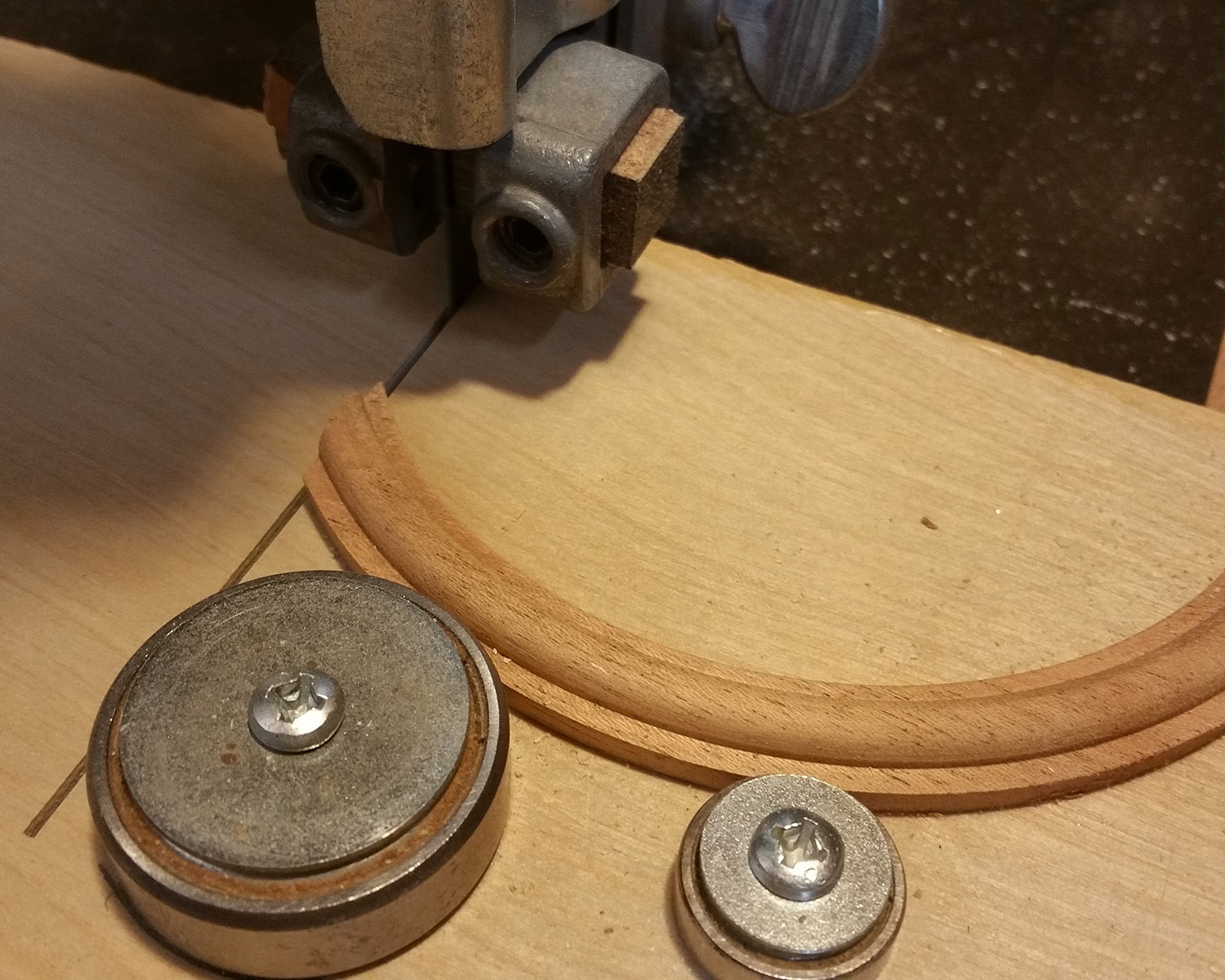 Make necessary adjustments to the bearing position.