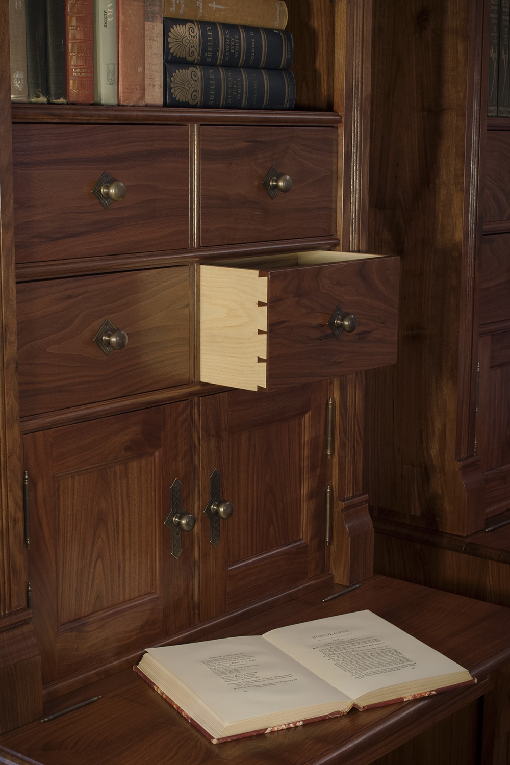 Traditional-Walnut-Bookcases-Doors-drawers.jpg