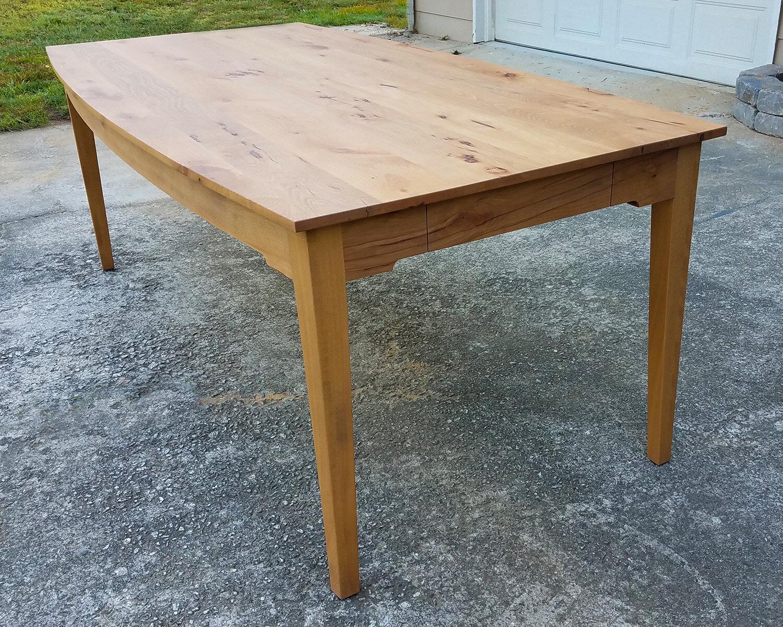 Contemporary mid modern beech dining table.jpg