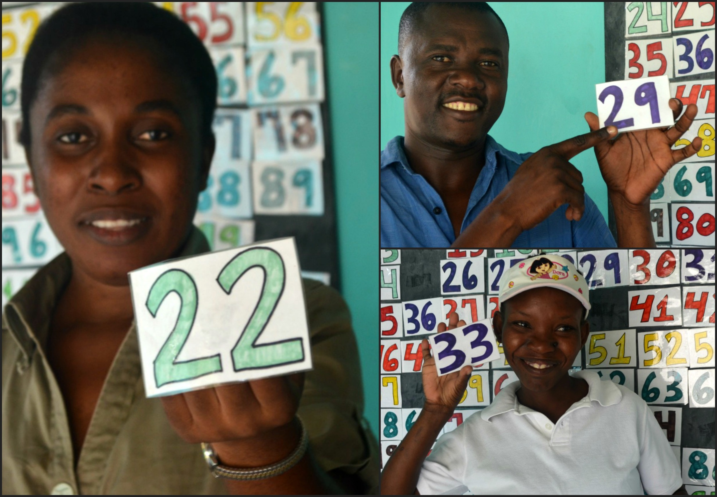 22 hours of education offered to moms each week, 29 months working for Second Mile, 33... this mom's favorite #