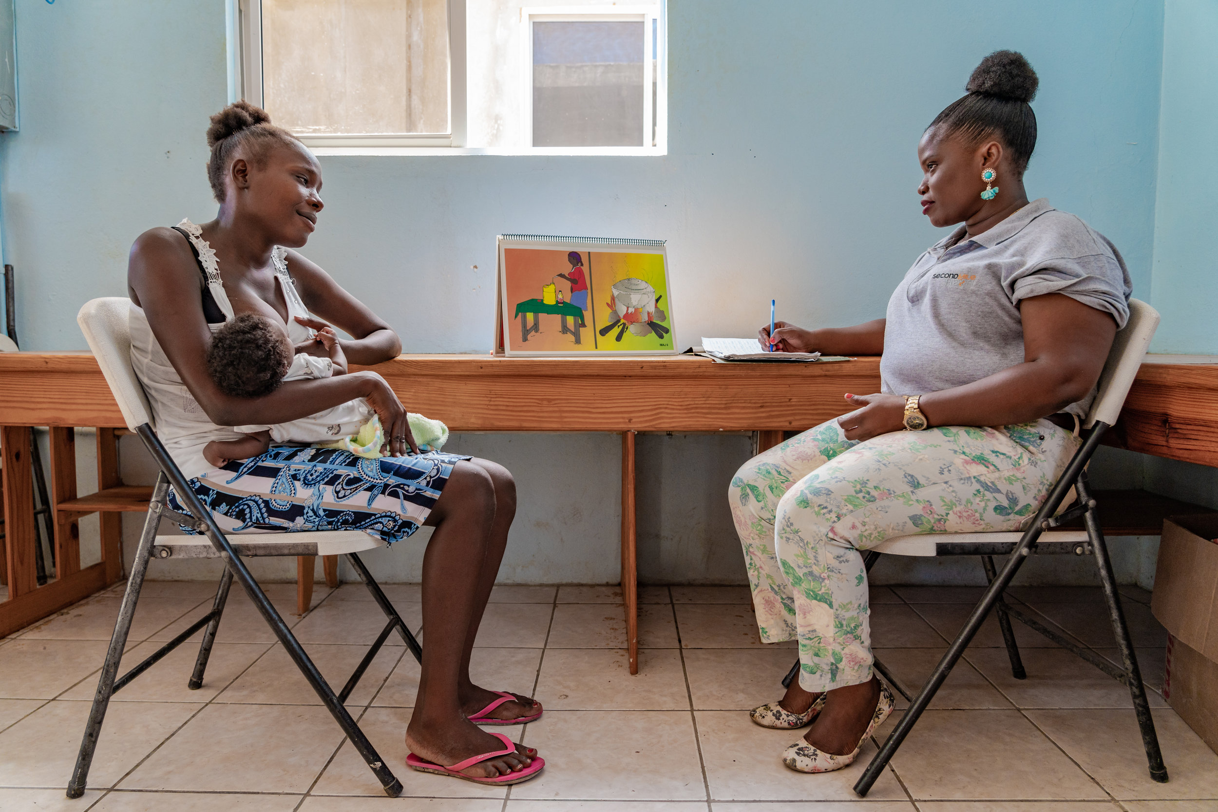 40. Christine F. - I believe in the family preservation model of Second Mile Haiti. I believe that the money I give directly saves the lives of women and children.