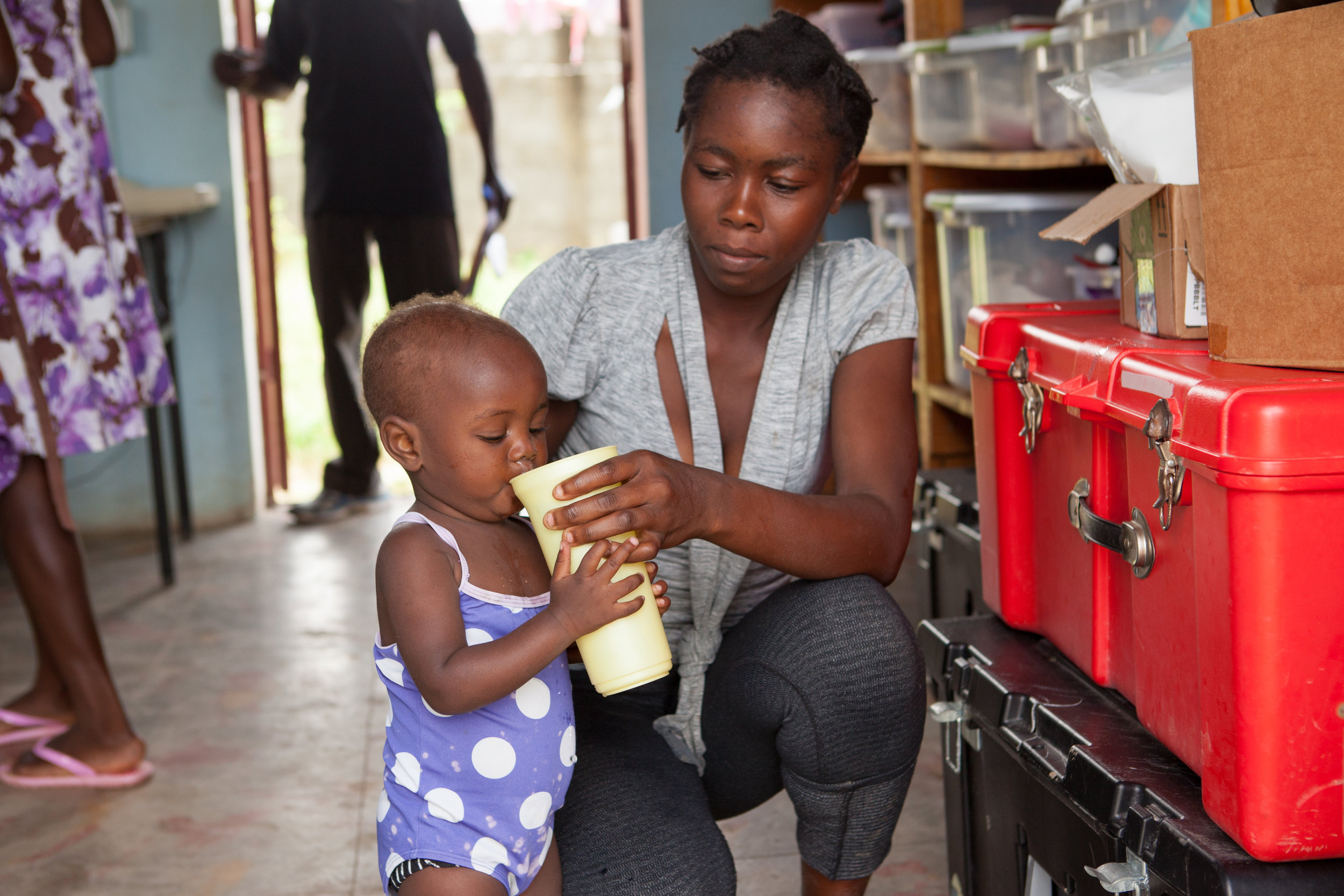 7. Leah H. - I support Second Mile because no child should grow up without a mother just because she lacked access to basic maternal health care.
