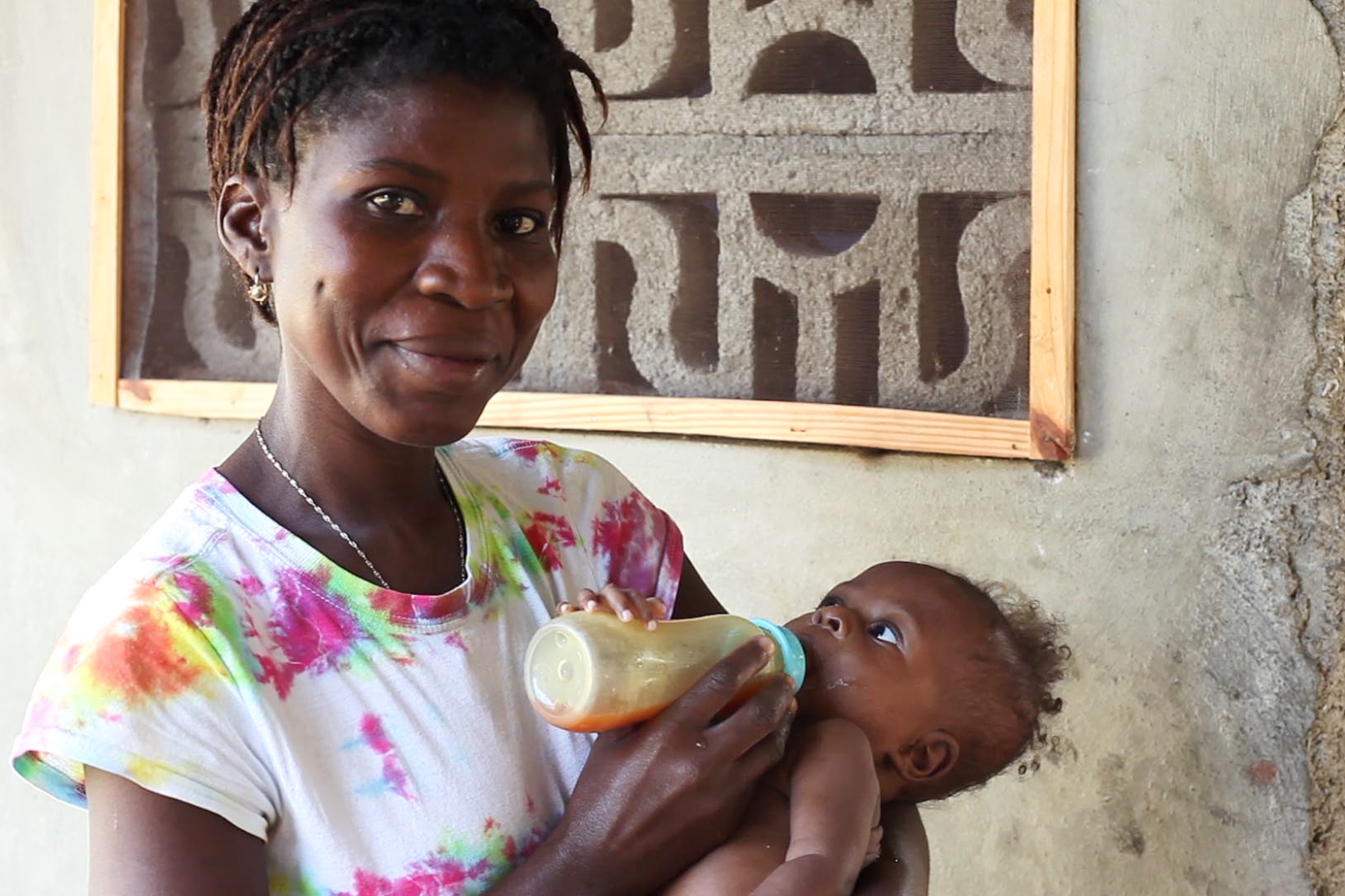 31. Amanda P. - I know that quality postnatal healthcare ensures healthy, living mothers. I support mothers in Haiti so that they have access to the care they need.