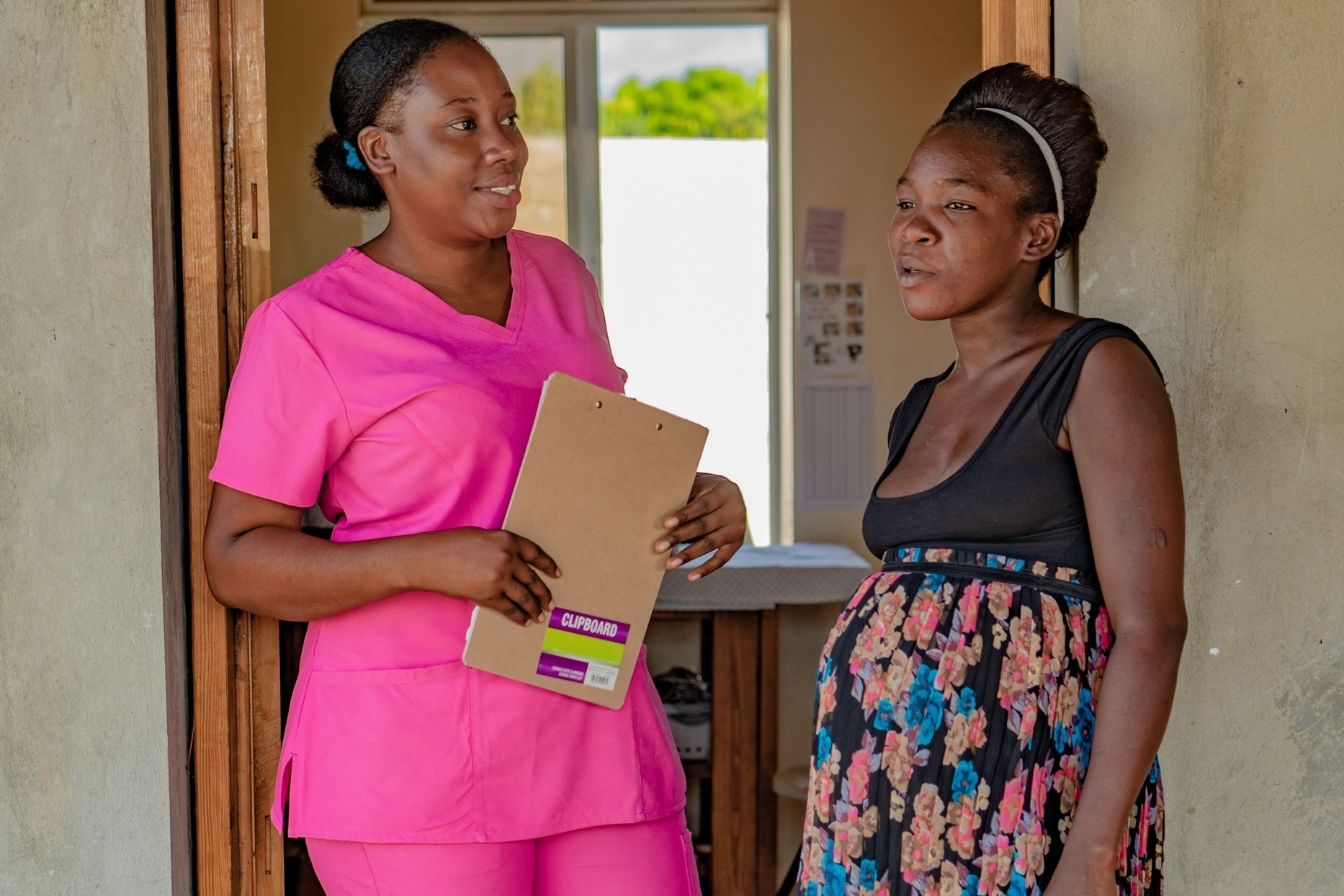 15. Unclaimed - The need for more care providers is a human rights issue! Per 10,000 population, Haiti has less than 1 physician and less than 1 nurse and midwife.
