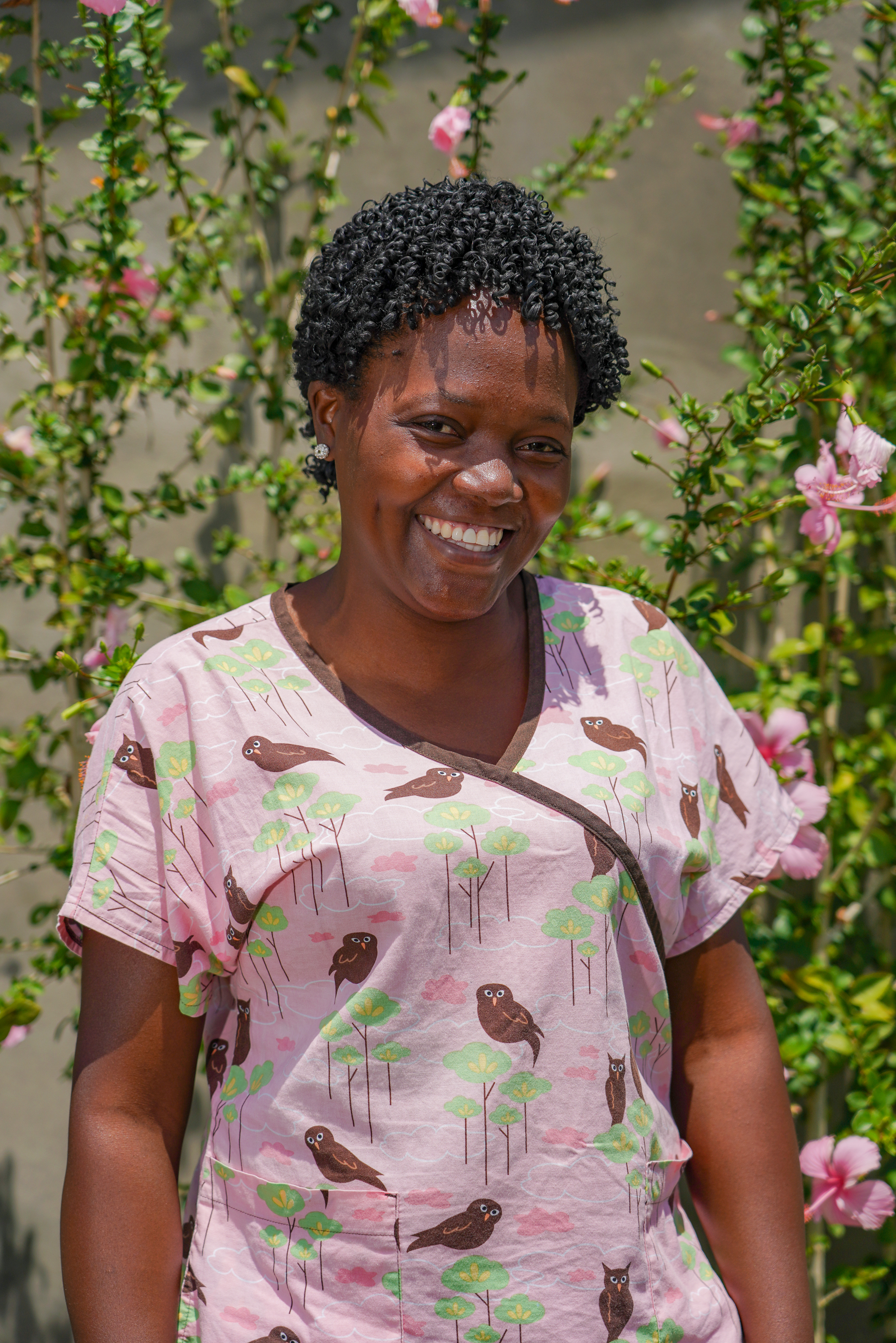 Josephine Cossier - Lead Nurse Midwife - As a nurse-midwife, Josephine has been an integral part of the Strong Start Maternity Center Team it's opening in March 2018. After graduating nursing school in 2010, she worked at Hopital Convention Baptiste d'Haiti in both the emergency room and the spinal cord injury rehab center. After graduating from midwifery school in Port-au-Prince in 2014, she worked in a variety of locations in cholera relief, primary care, and maternity services. Before joining Second Mile's Strong Start Team, she worked for two years at Hopital Fort-Saint Michel in their maternity department. When she is not working with women and families at the maternity center, she loves being at home with her husband and three children.