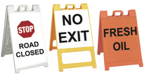 Signs - plasticade barricade signs.png
