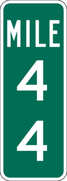 Marker Signs - Mile marker.png