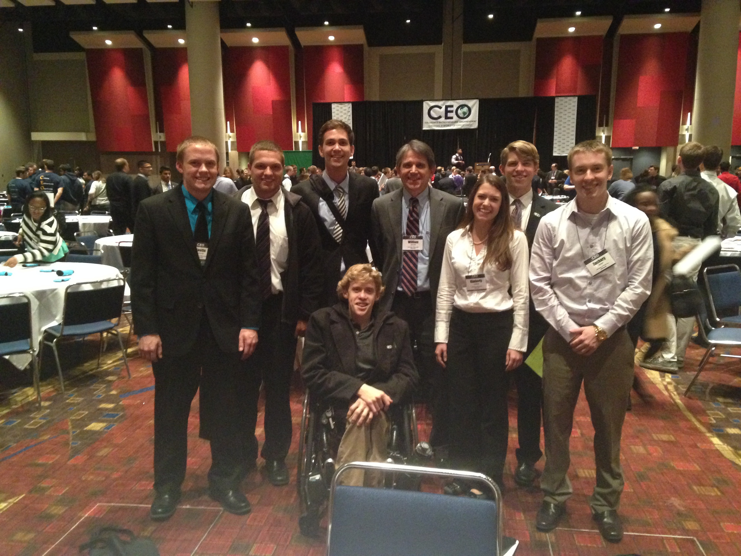 The University of Wisconsin - Whitewater CEO Chapter at the 2013 CEO National Conference.