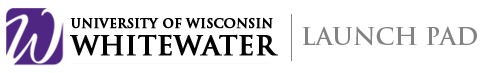 The University of Wisconsin - Whitewater Launch Pad - A premier student startup accelerator. Students receive startup training, coaching, roundtable events and access to marketing, legal, accounting resources and more.