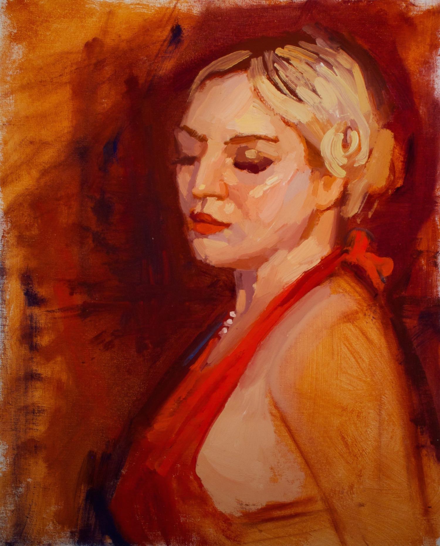 Eduardo Fernandez portrait painting
