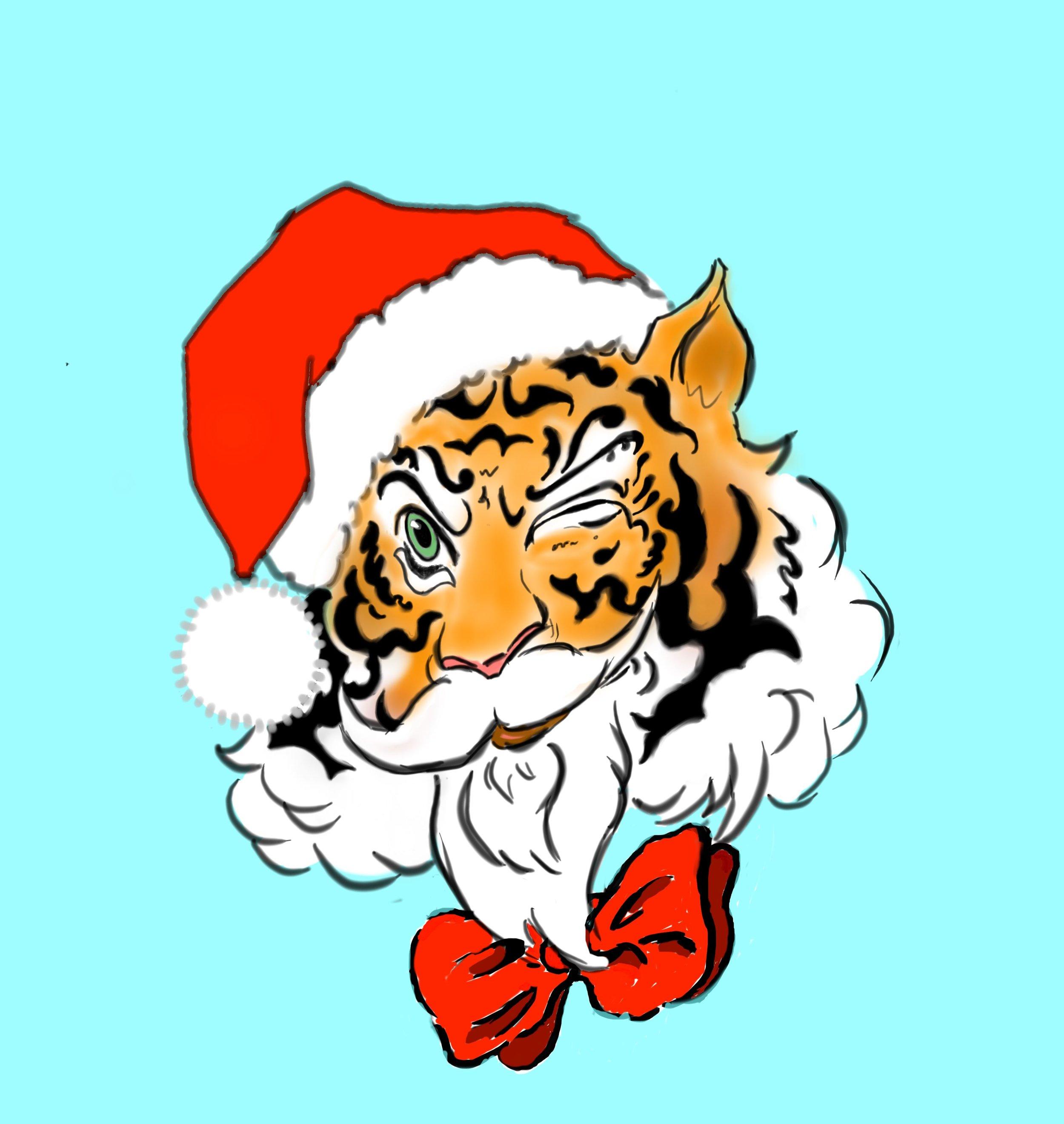 Tiger Santa