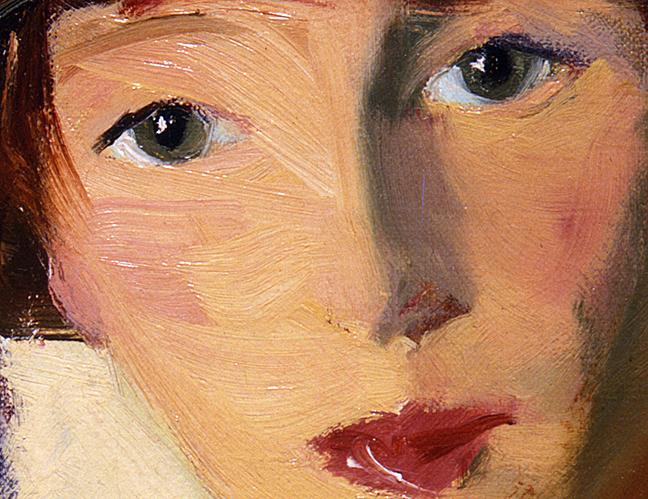 Mrs H. by Robert Henri