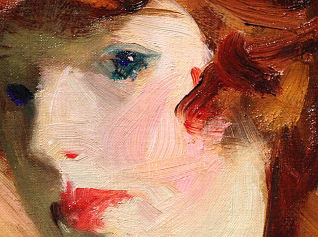 The Young Woman by RH