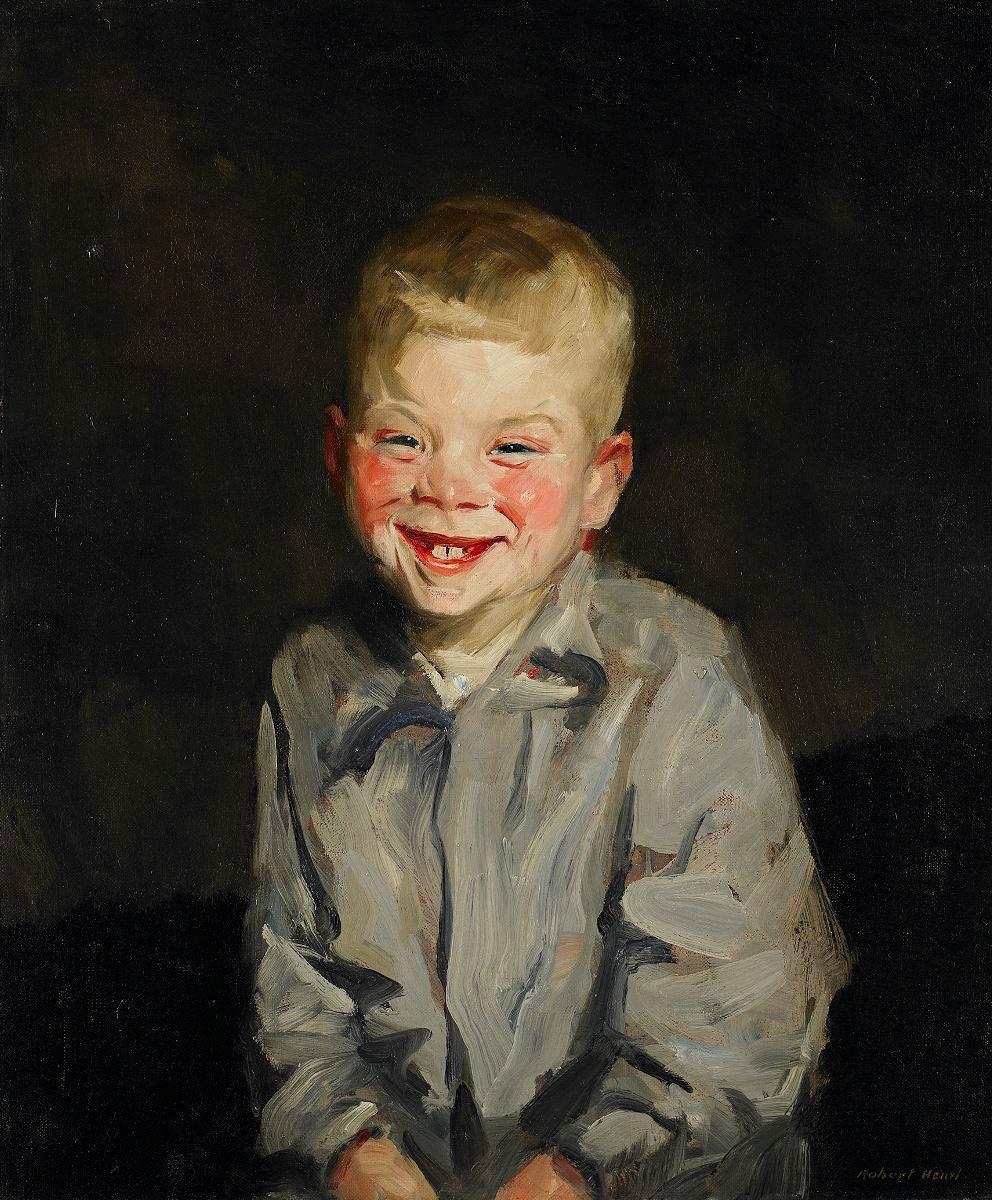 The Laughing Boy ( Jobie van Slouten ) by Henri