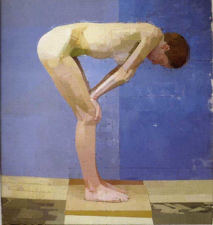 "Ali 1995-1997 Oil on canvas 32"" x 30"""