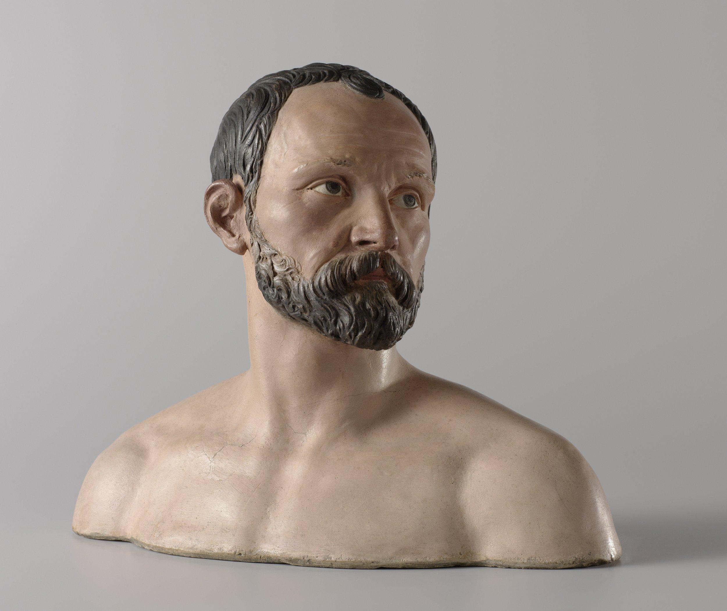 Self-portrait, Johan Gregor van der Schardt, 1573.