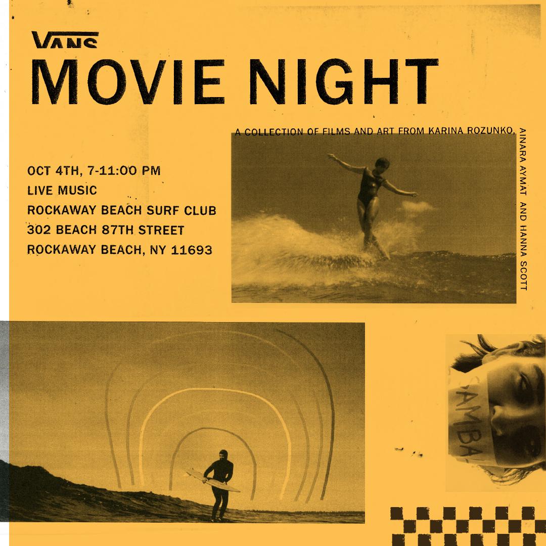 Event Poster: Vans