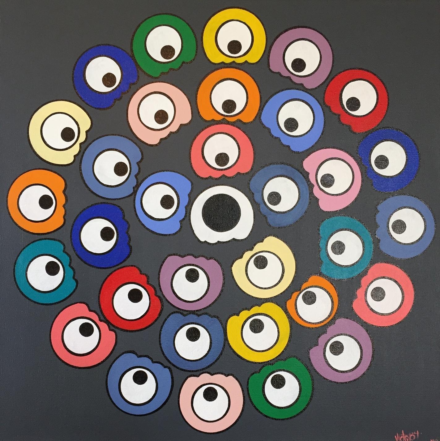 "20x20 ""SOLD""    Acrylic on gallery loft Canvas"