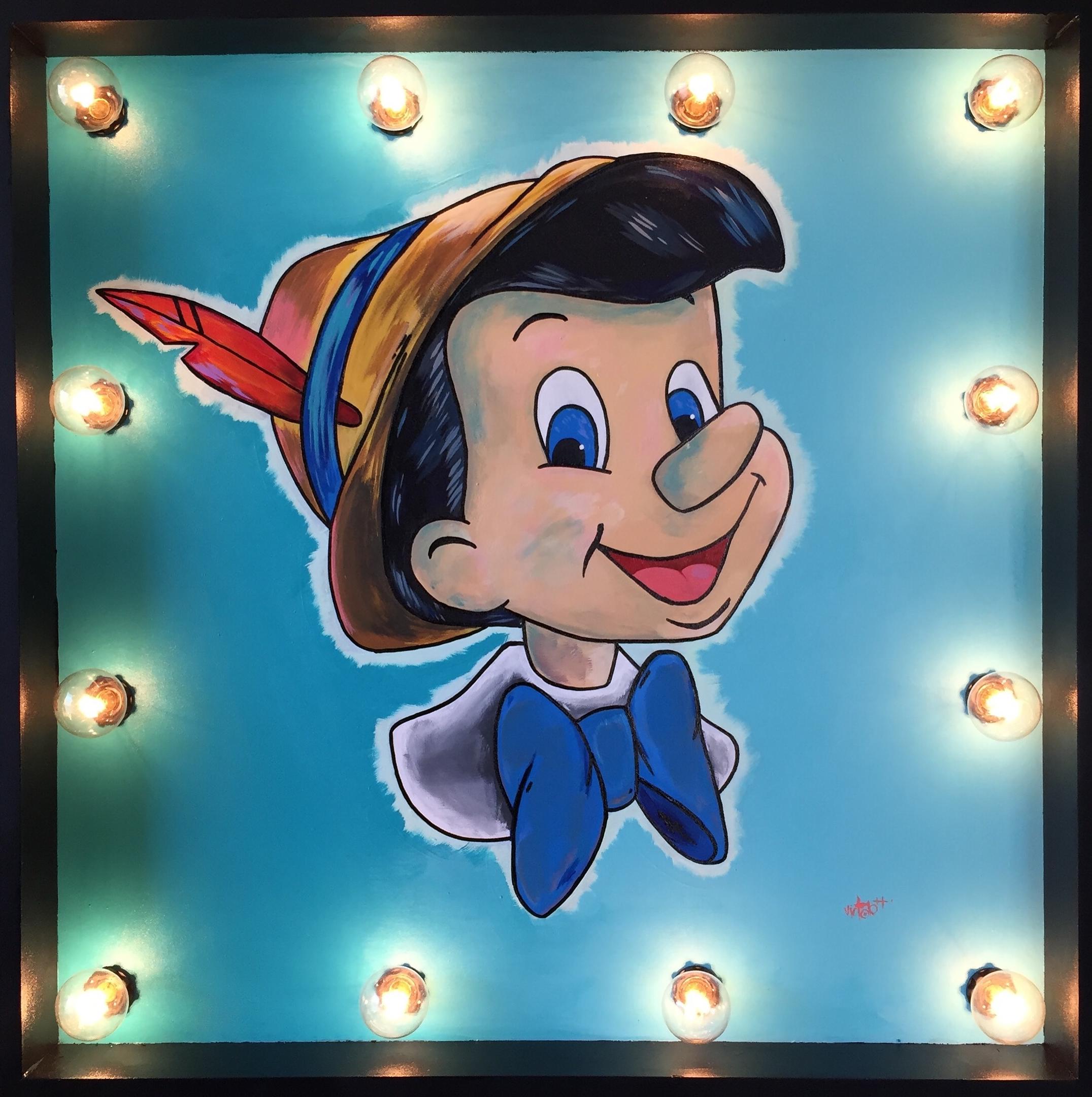 Light Box Pinocchio