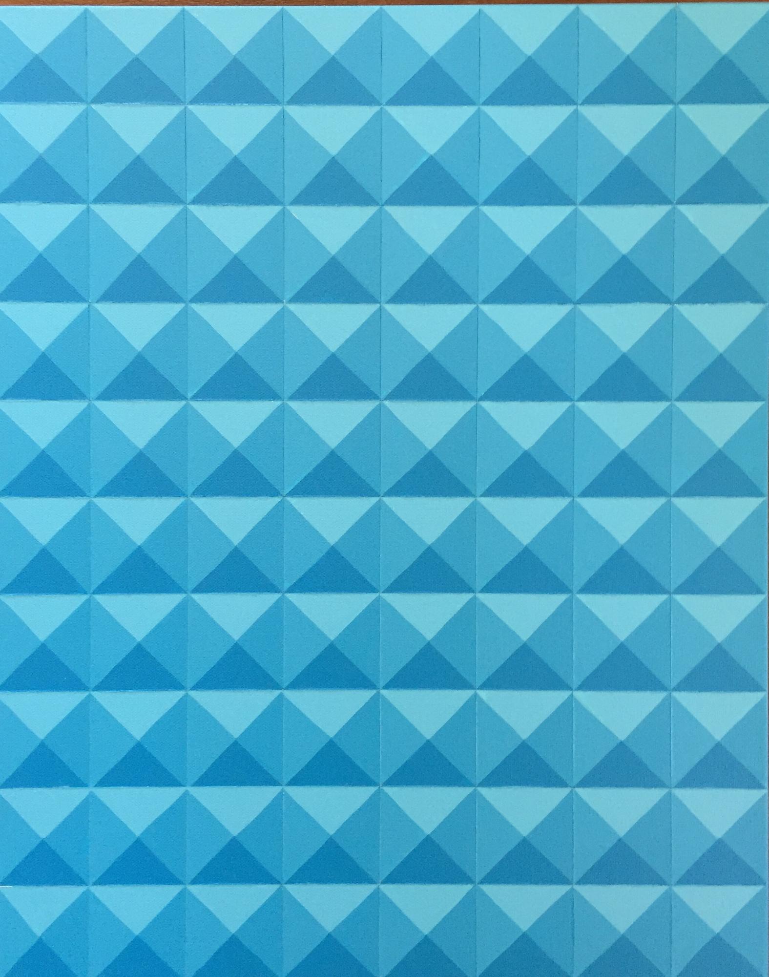 Light Blue Geometric