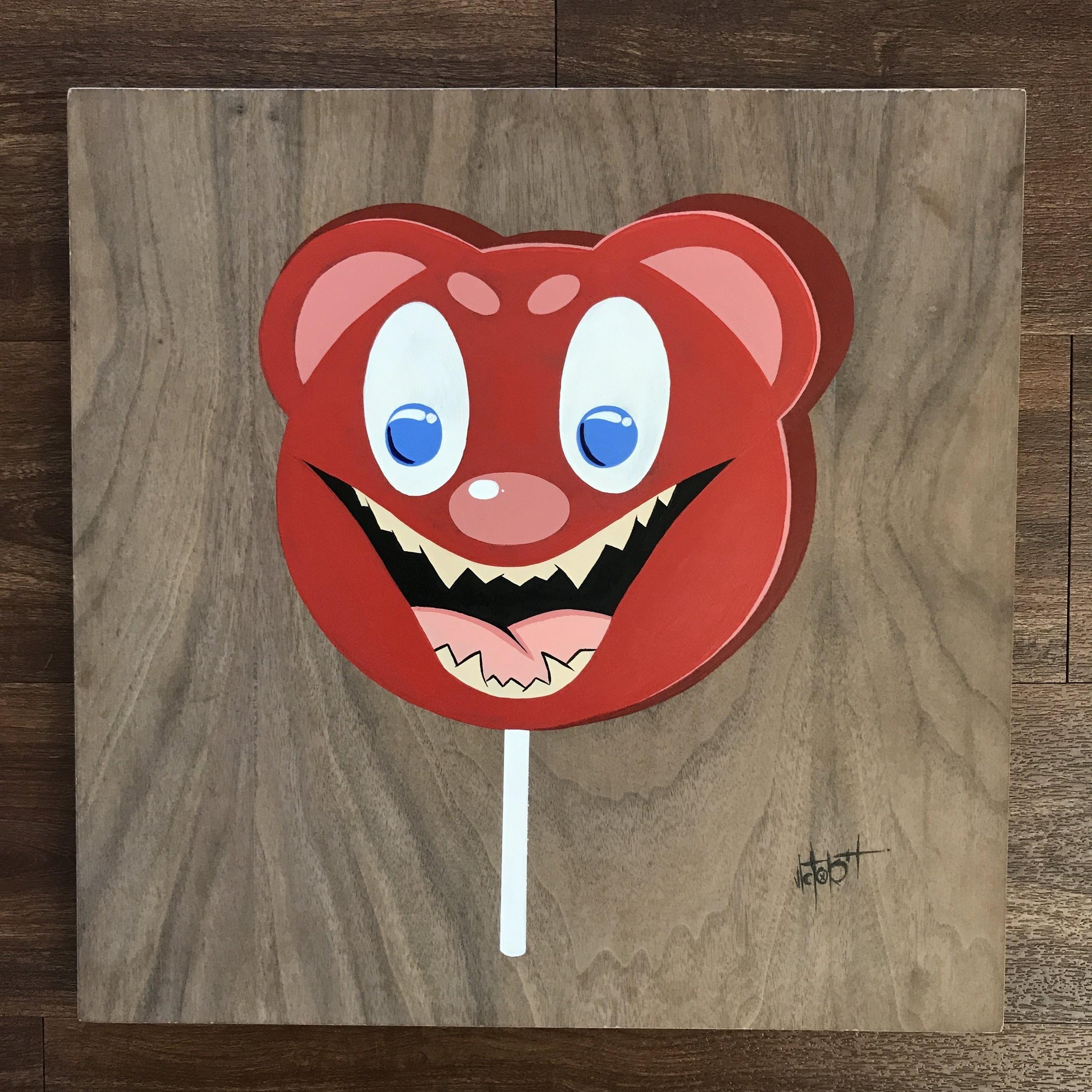 Lollipop bear
