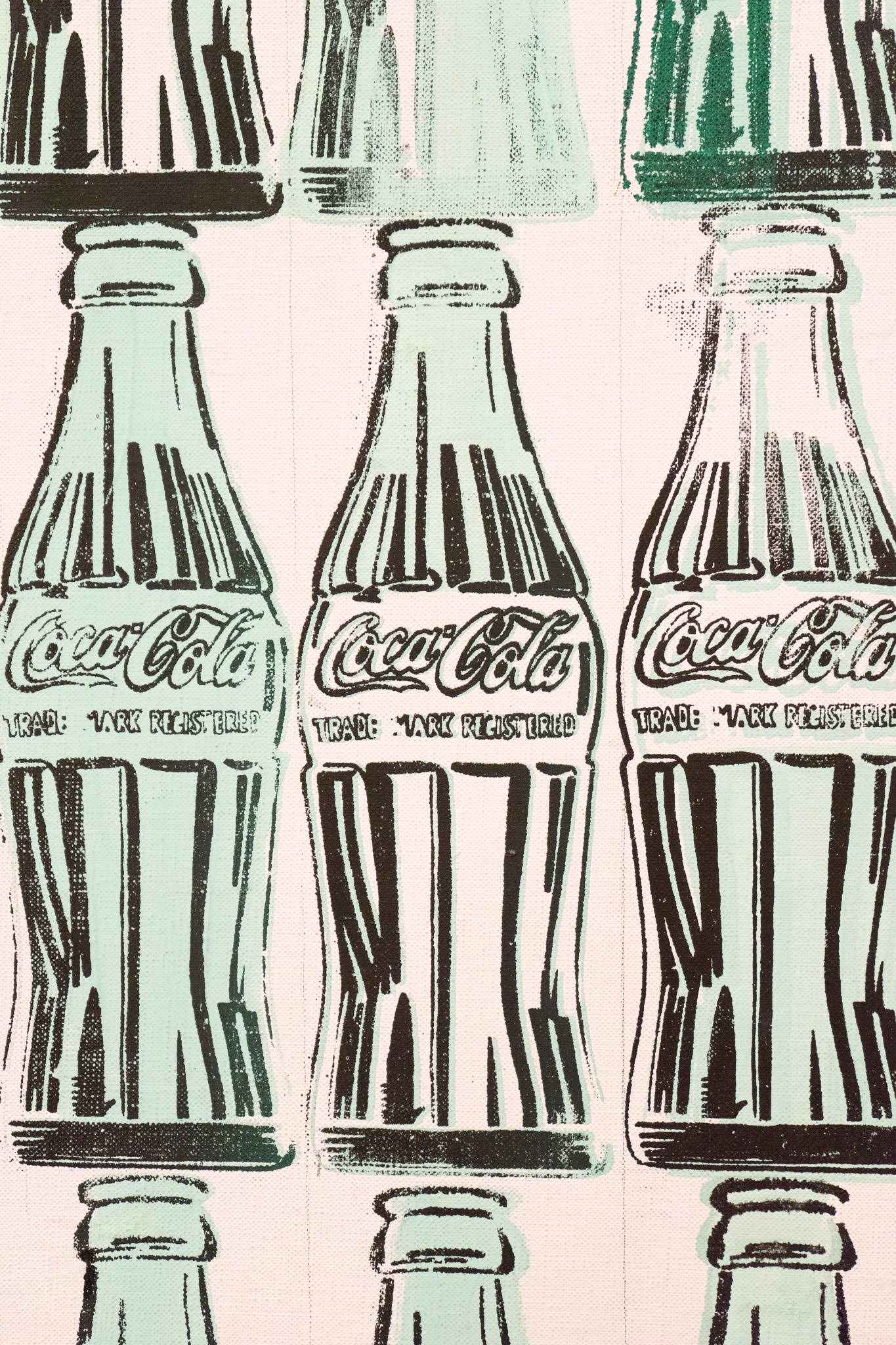 """""""Green Coca-Cola Bottles"""" (Andy Warhol, 1962, at the Whitney Museum)"""