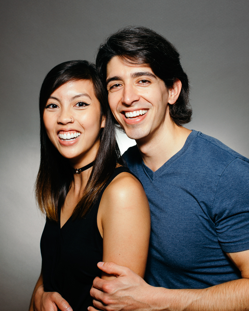 Tiny Deer Studio Portrait - Couple - Dark Hair.jpg