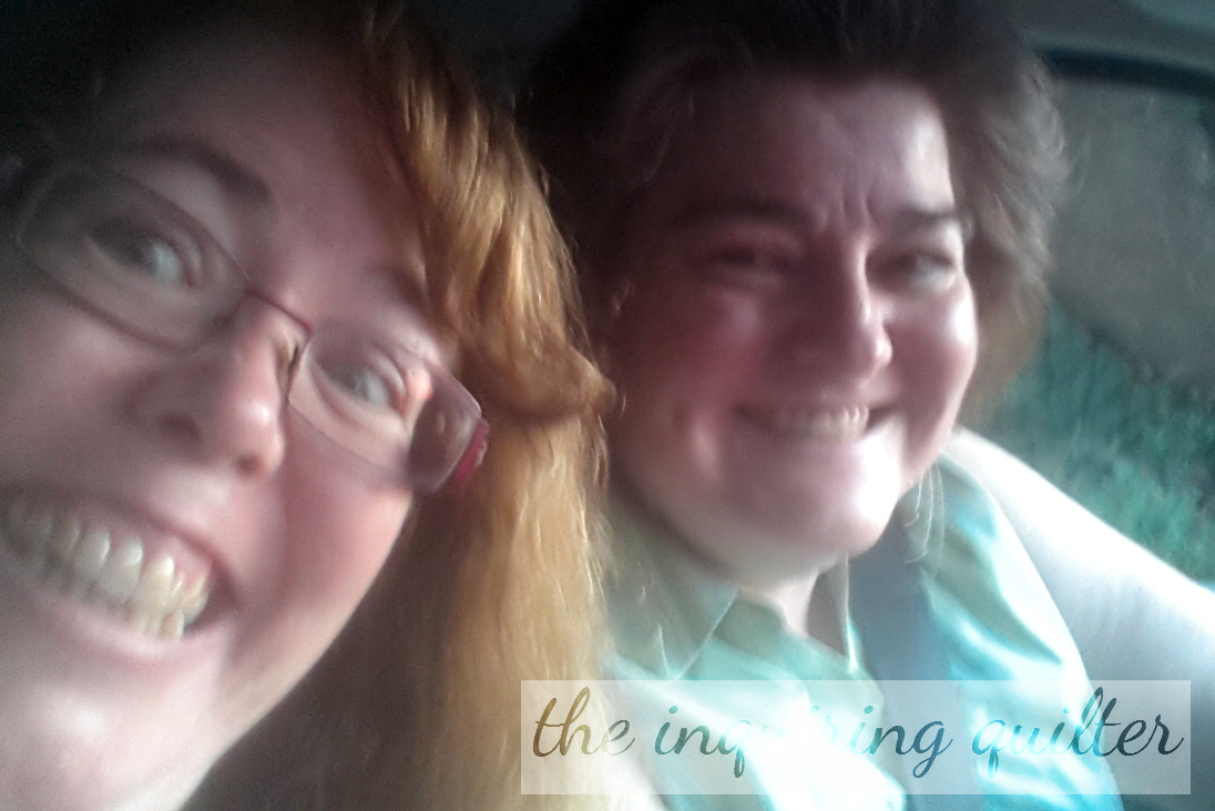 Alice and me at the start of our adventure...little did we know what an adventure it would turn out to be!