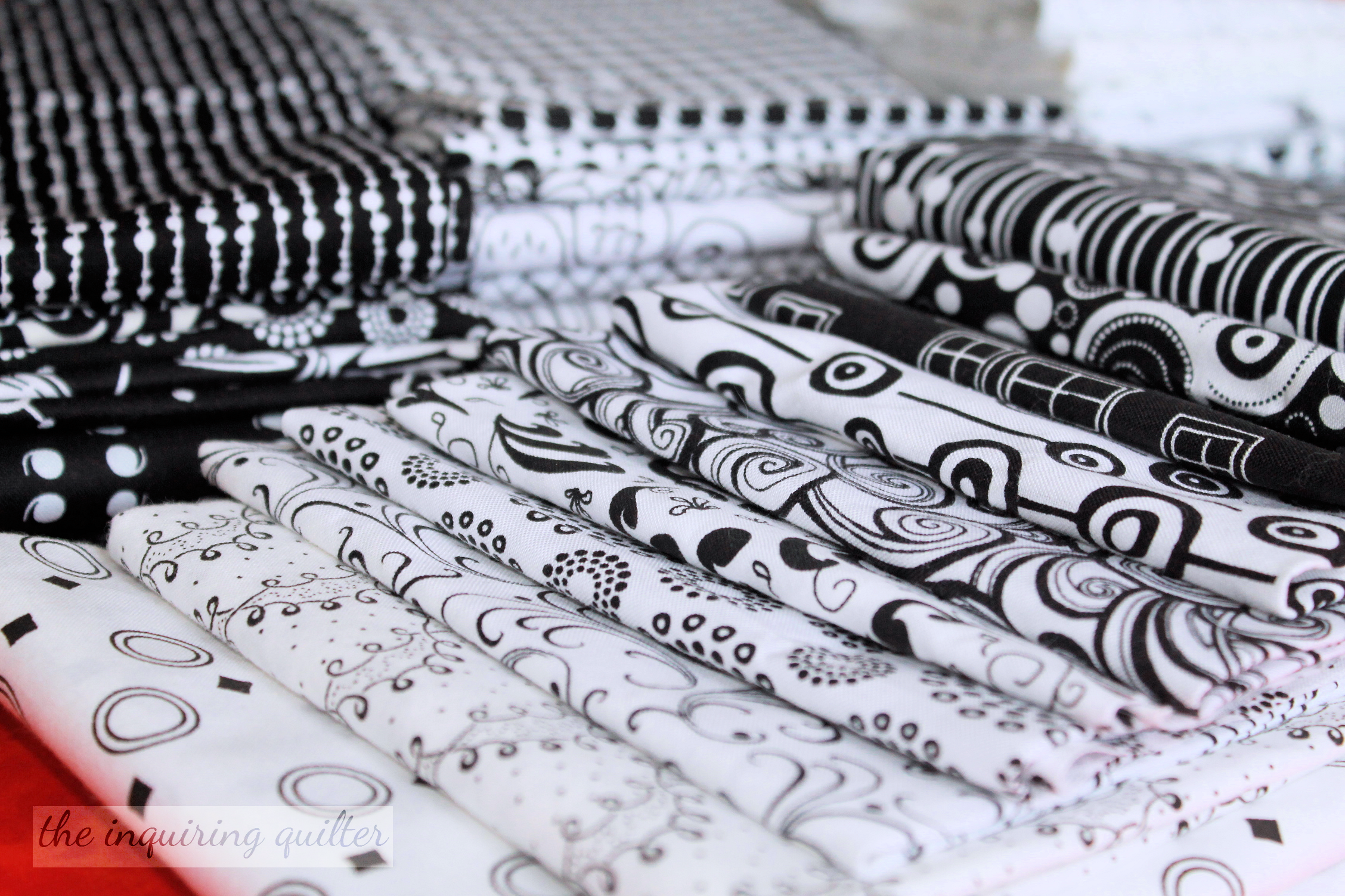 My Faves Monday Black And White Fabrics The Inquiring