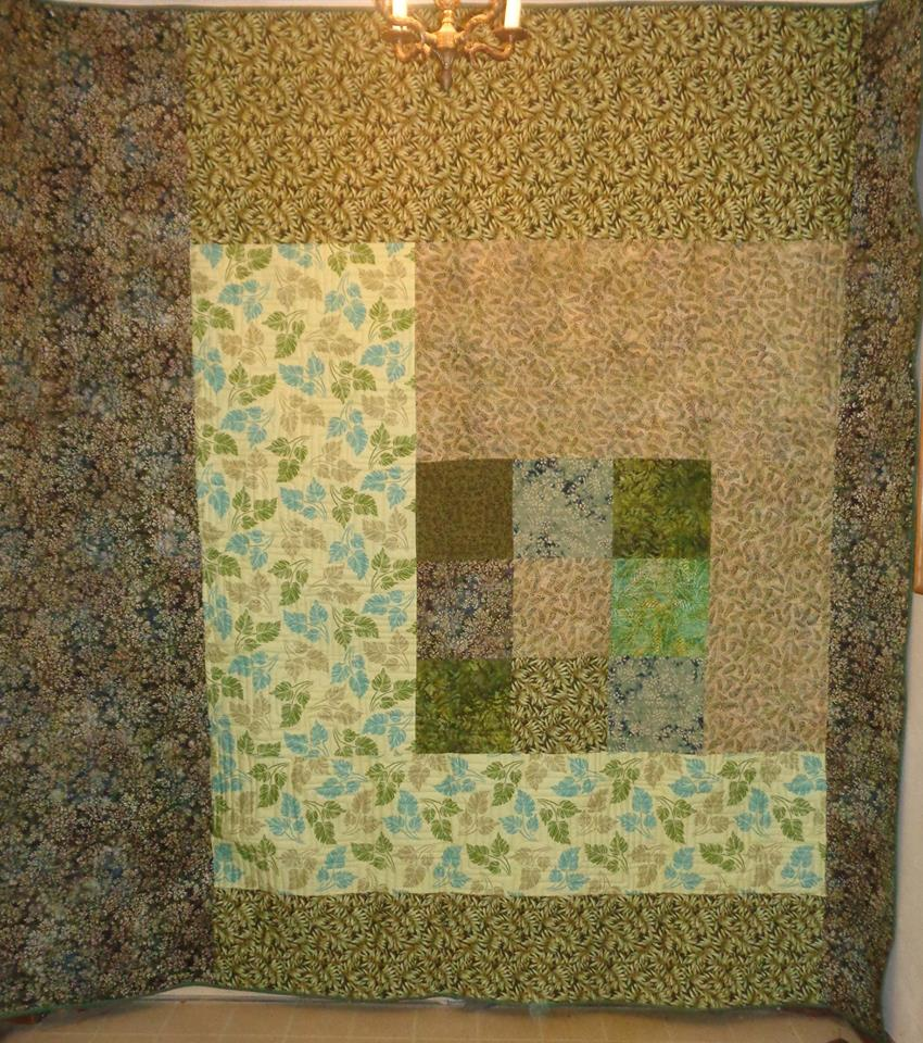 Mary Quilt 1 back pieced