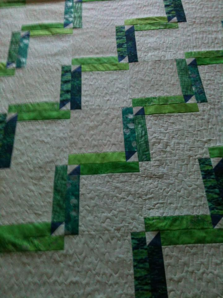 Isn't the quilting lovely?