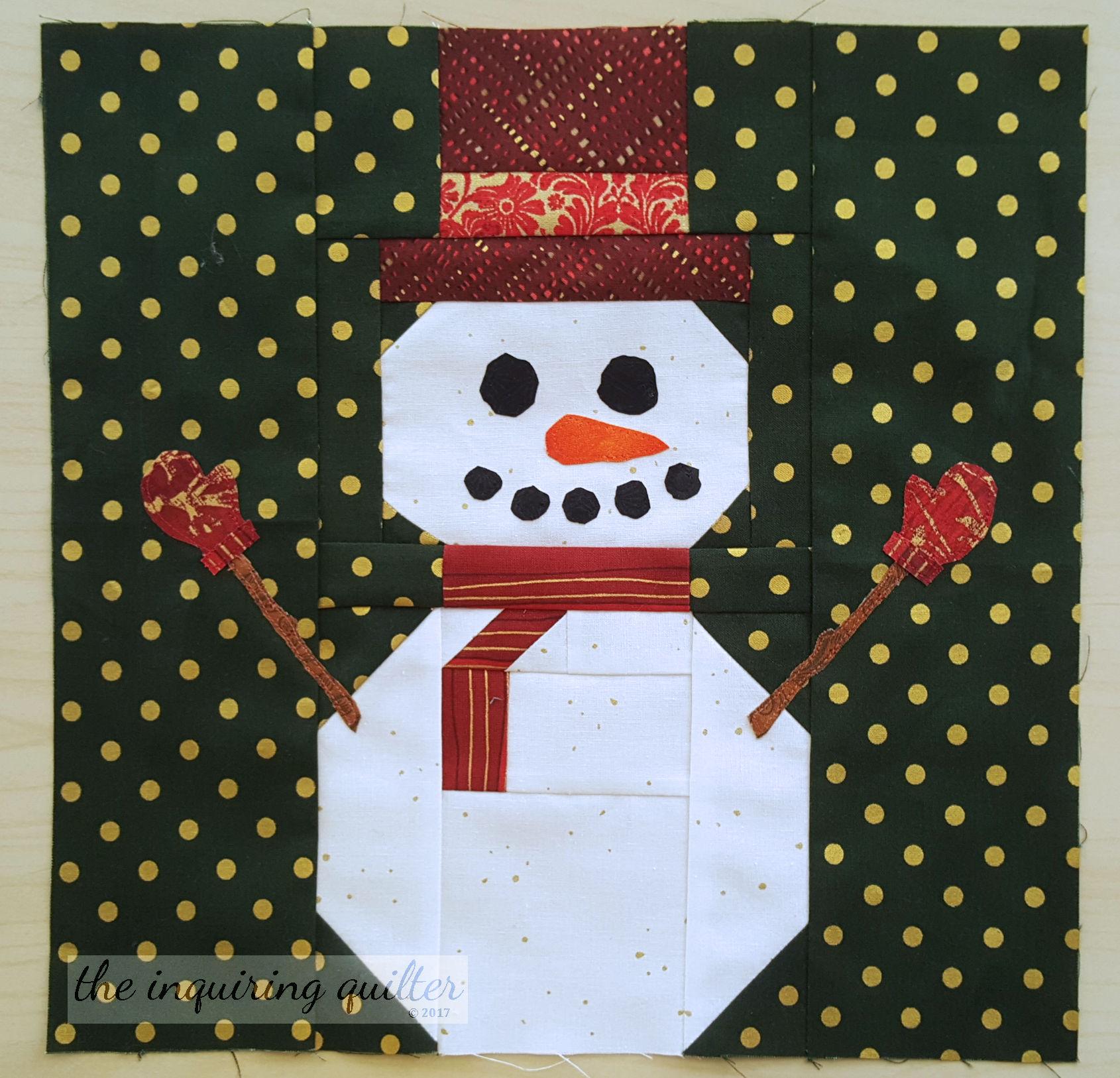 Block 5 - Snowman