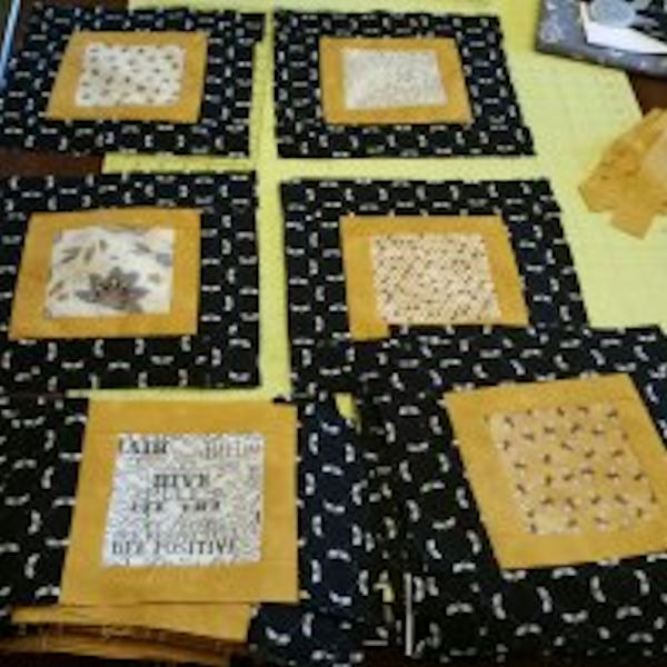 Bee Squared quilt
