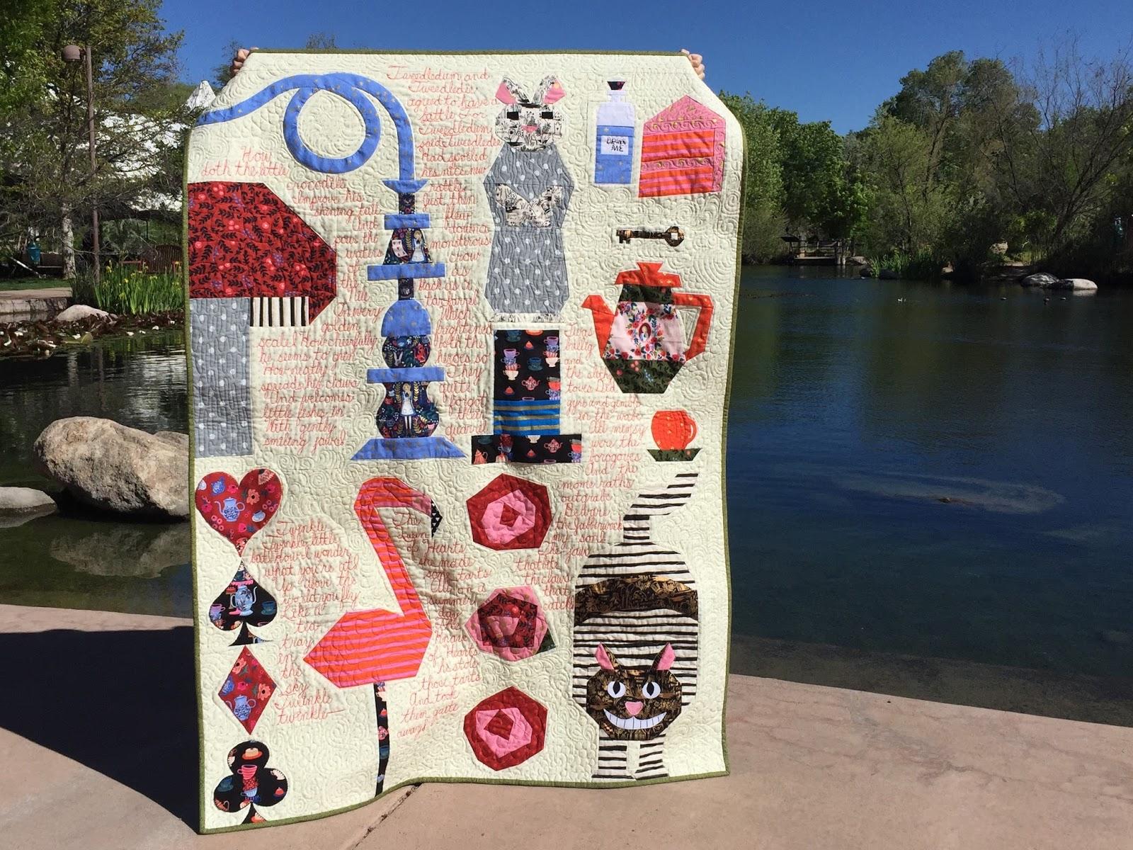 Afton's Wonderland quilt from Week 14