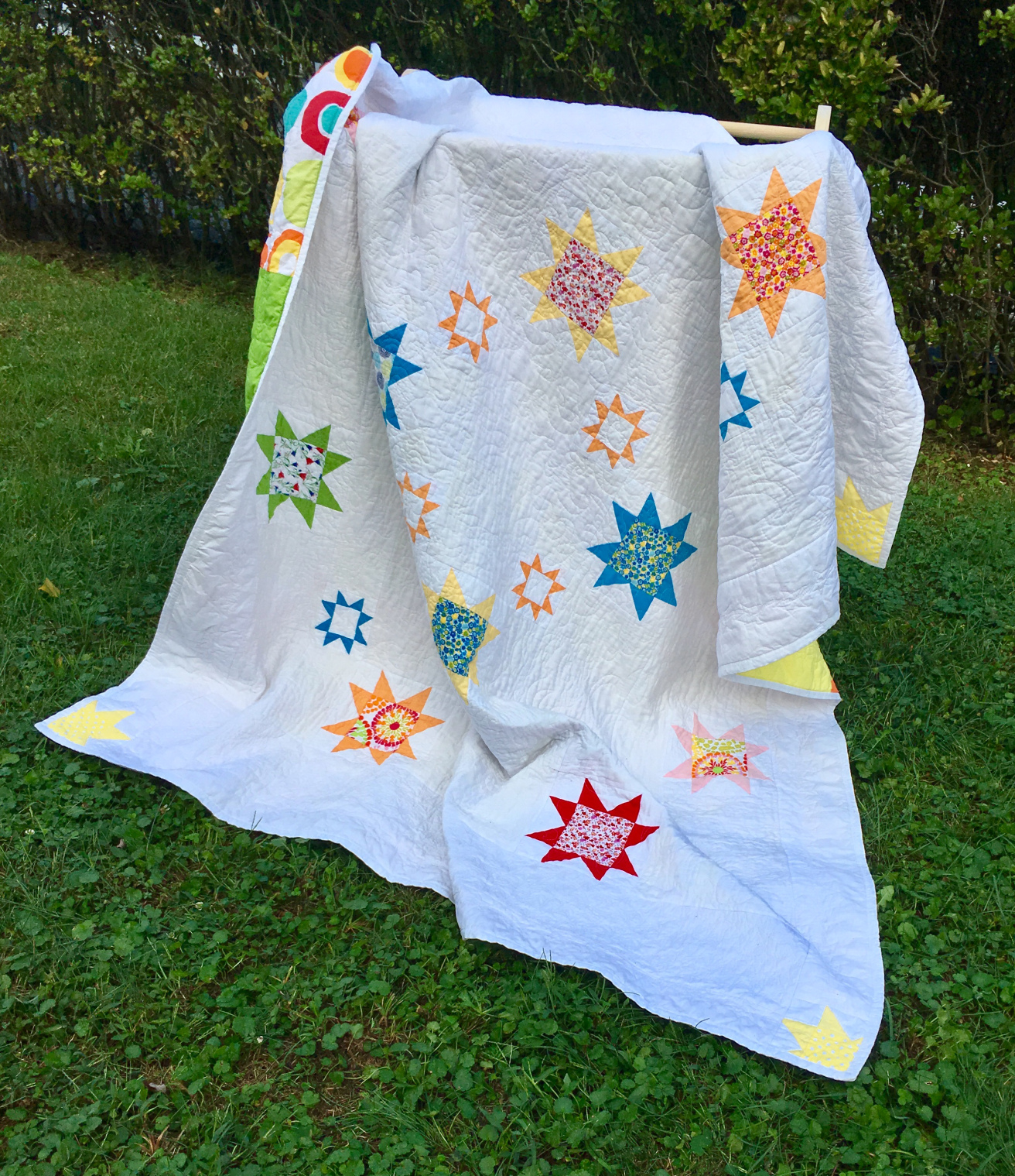 Abbie's Summer Nights quilt from Week 38