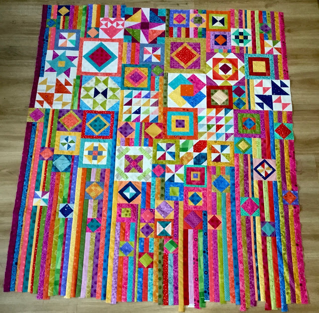 Kate's Gypsy Wife quilt from Week 46
