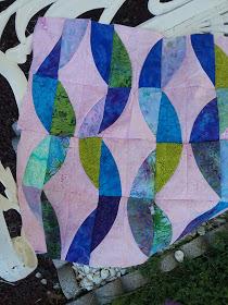 Kathy's Metro Twist quilt from Week 32