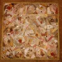Mary's crazy quilt from Week 31