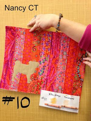 Nancy's guild challenge quilt from Week 15