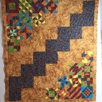 Susie Walden's second saturday quilt from Week 46