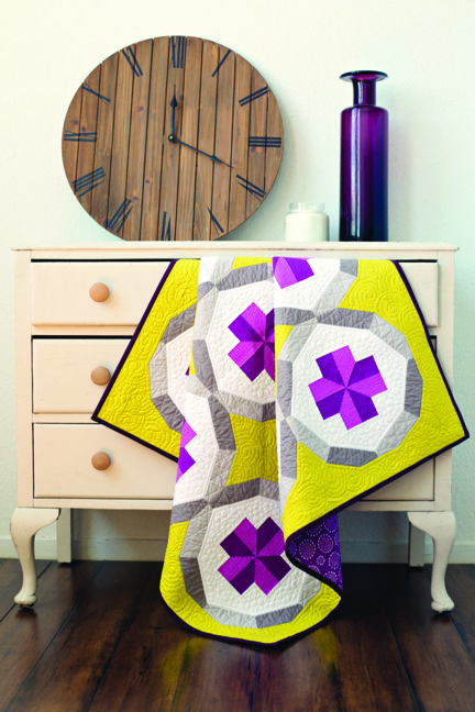 Designed, pieced, and quilted by Cheryl Brickey. Photo courtesy of C & T Publications.