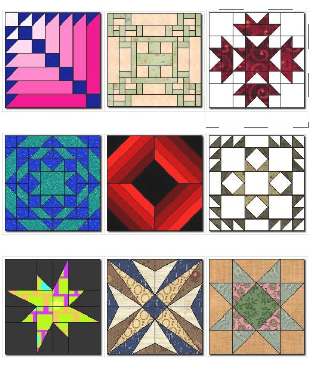 Suggestions for her block from quilters cache.JPG