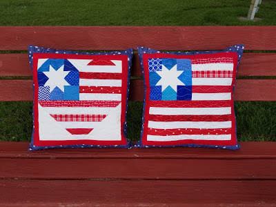 Kathy pillows from I Heart America Quilt Block by Pretty Little Quilts.jpg