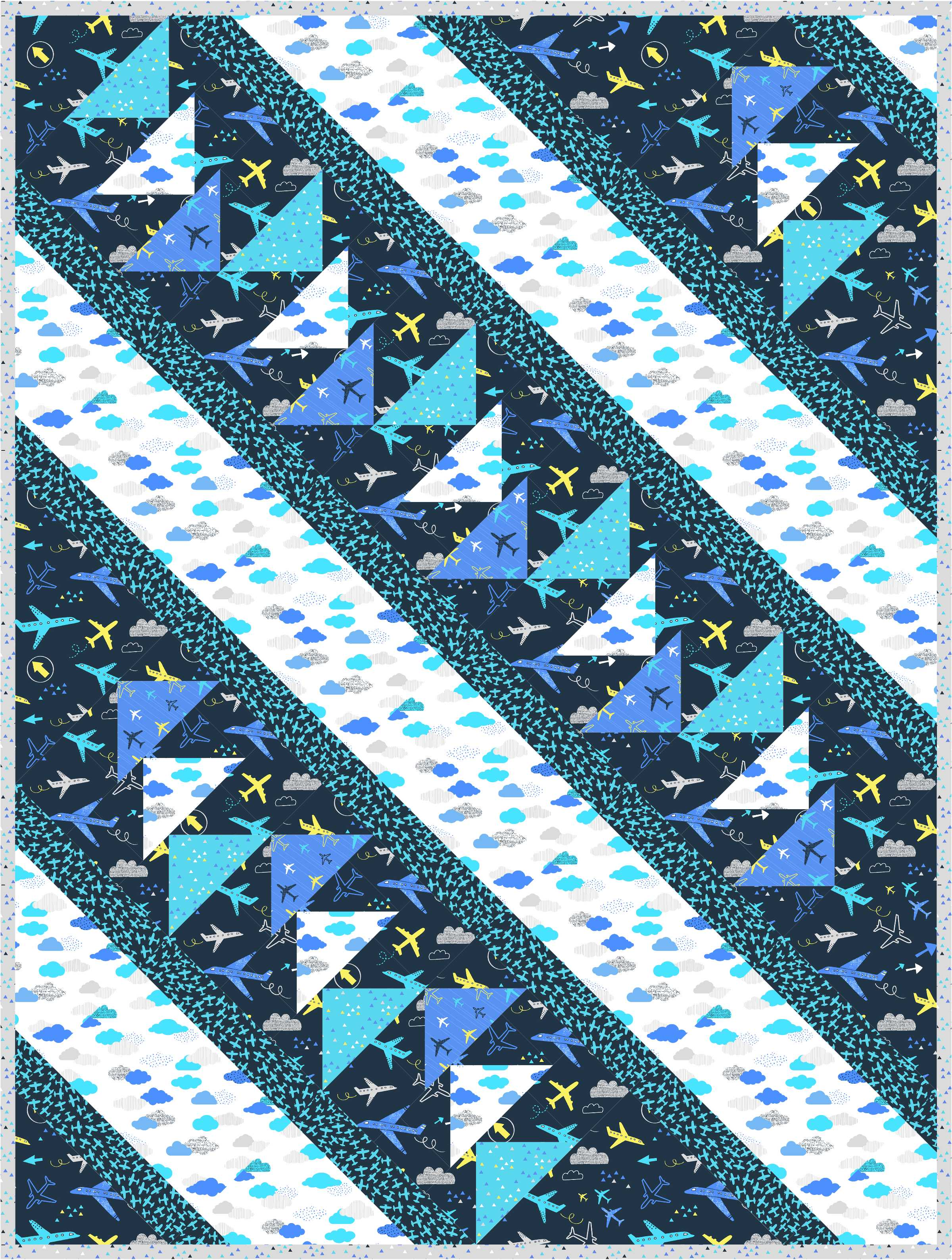 Flight Pattern, featuring the Take Flight collection for Dear Stella