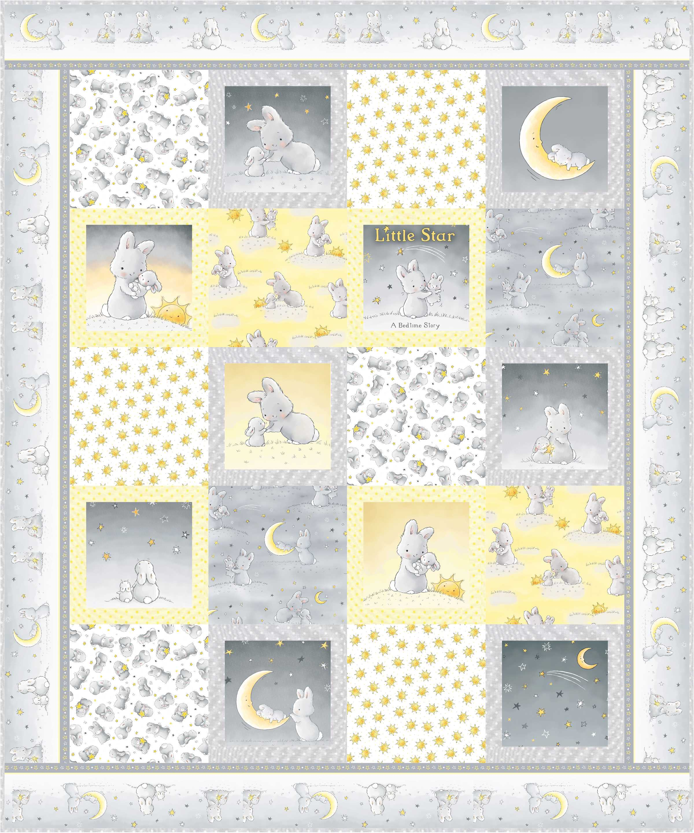 Cobbles, featuring the Little Star collection by Timeless Treasures